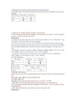 Tài liệu Bài tập môn kinh tế quốc tế doc