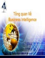 Slide tổng quan về business intelligence