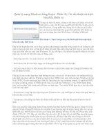 Tài liệu Script - Các thủ thuật của kịch bản điều khiển xa docx