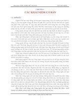 Tài liệu Giáo trình công nghệ chế tạo máy chương 1 pdf