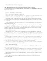 Tài liệu QUY CHẾ TUYỂN SINH SAU ĐẠI HỌC pdf