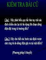 Tài liệu luc tuong tac giua hai dong dien