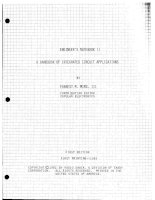 Engineer's notebook II a handbook of integrated circuit applications   forrest mims