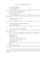 Tài liệu Ôn thi CPA 2009 môn Tin học PHẦN II ppt
