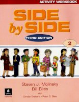 Side By Side Activitiy Workbook 2 - third edition