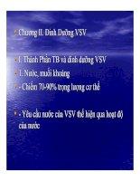 Tài liệu BÀI GIẢNG VI SINH SAU THU HOẠCH - Phần 2 pdf