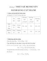Tài liệu THIẾT KẾ HỆ THỐNG DẪN ĐỘNG XÍCH TẢI, chương 3 pdf
