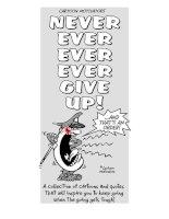 Ebook - Đừng bao giờ từ bỏ