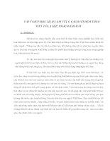 Tài liệu VÀI Ý GIÚP HỌC SINH NẮM VỮNG CÁCH GÕ ĐỆM THEO TIẾT TẤU, NHỊP, PHÁCH KHI HÁT pdf