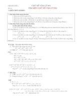 Tài liệu chuyên đề ôn thi HSG toán 6