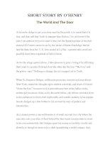 Tài liệu LUYỆN ĐỌC TIẾNG ANH QUA TÁC PHẨM VĂN HỌC-SHORT STORY BY O'HENRY The World And The Door doc