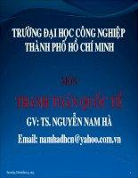 Tài liệu GÍAO ÁN THANH TOÁN QUỐC TẾ- CHƯƠNG 4 pdf