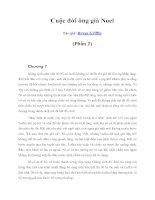 Tài liệu Cuộc đời ông già Noel (Phần 2) ppt