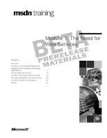 Tài liệu Module 1: The Need for Web Services pdf