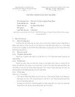 Tài liệu CHƯƠNG TRÌNH GIÁO DỤC ĐẠI HỌC CỦA TRƯỜNG ĐẠI HỌC SƯ PHẠM HÀ NỘI doc