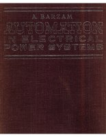 Automation in electrical power systems by a barzam