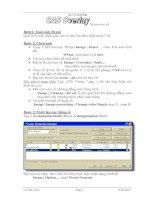 Tài liệu Autodesk - Số hóa bình đồ pdf