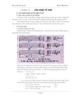 Tài liệu Bài giảng kết cấu gỗ - Chương VI: Cấu kiện tổ hợp pdf