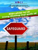 Tài liệu Biện pháp tự vệ trong thương mại quốc tế pptx