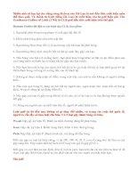 Tài liệu KIẾN THỨC CƠ BẢN VỀ GOLF pdf