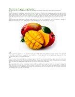 6 loại trái cây đồng hành cùng dáng đẹp