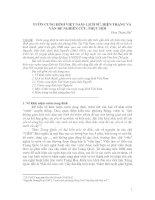 Tài liệu VƯỜN CUNG ĐÌNH VIỆT NAM- LỊCH SỬ, HIỆN TRẠNG VÀ VẤN ĐỀ NGHIÊN CỨU, PHỤC HỒI pptx