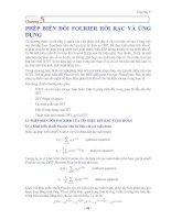 Tài liệu Chương5 - PHÉP BIẾN ĐỔI FOURIER RỜI RẠC VÀ ỨNG DỤNG pptx