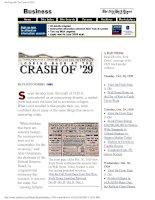 Tài liệu New York Times - Looking Back At The Crash Of 1929Pdf doc