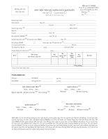 Tài liệu Mẫu giấy nộp tiền vào ngân sách nhà nước pptx