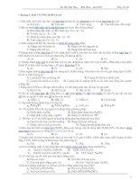 Bài soạn TN KIM LOẠI -LUYỆN THI ĐH 2009