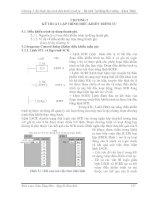 Tài liệu Chương 5: Kỹ thuật lập trình điều khiển trình tự ppt