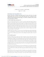 Tài liệu THÔNG TIN TÀI CHÍNH – NGÂN HÀNG Ngày 10-11-2008 Mức tăng dư nợ tín dụng ... pptx