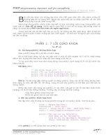 Tài liệu 21 sai lầm chết người với lập trình PHP pptx