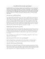 Bài soạn Làm sao để nói chuyện thuyết phục