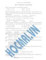 Tài liệu (Luyện cấp tốc Hóa) Pin điện hóa - ăn mòn hóa học_Trắc nghiệm kèm đáp án doc