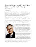 Tài liệu Robert S.Kaplan -
