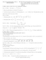 Tài liệu Đề thi thử đại học môn Toán khối B, D - Bám sát cấu trúc Bộ giáo dục pdf