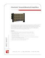 Tài liệu ClearGain® Ground-Mounted Amplifiers doc