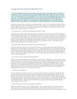 Tài liệu 5 nguyên tắc vàng cho kế hoạch thay đổi tổ chức docx