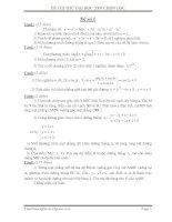 Tài liệu Đề thi thử đại học 2009 chọn lọc pdf