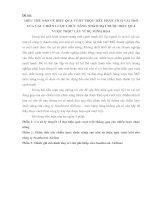 Đề tài HIỂU THẾ nào về HIỆU QUẢ vượt TRỘI hãy PHÂN TÍCH VAI TRÒ của các CHIẾN lược CHỨC NĂNG NHẰM đạt được HIỆU QUẢ vượt TRỘI lấy ví dụ MINH họa