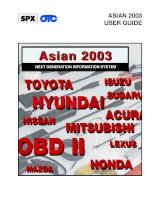 Tài liệu Asian 2003 Software for the Next Generation Information System Tool docx