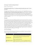 Tài liệu Exchange Troubleshooting Assistant doc