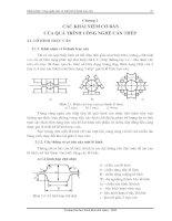 Tài liệu Các khái niệm cơ bản của quá trình công nghệ cán thép ppt