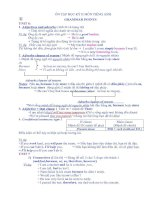 Tài liệu Ôn tập học kỳ II Tiếng Anh 9