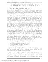 Tài liệu Vài điều cần bàn trong kỹ thuật vi xử lý pdf