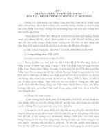 Tài liệu Đường lối cách mạng Việt Nam - Bài 2 docx