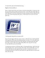Tài liệu 10 cách khắc phục khi file Word bị hỏng doc