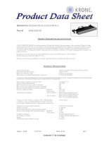 Tài liệu Product data sheet pdf