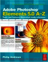 Tài liệu Adobe Photoshop Elements 5.0 A–Z Tools and features illustrated ready reference- P1 docx